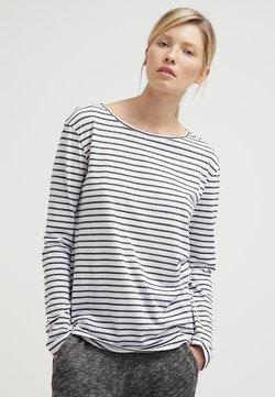 Samsøe Samsøe - NOBEL STRIPE - Langarmshirt - black stripe