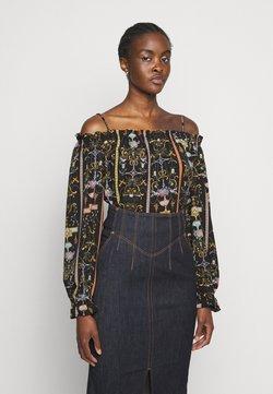 Versace Jeans Couture - LADY - Langarmshirt - black