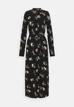 Vero Moda Tall - VMSIMPLY EASY LONG SHIRT DRESS - Maxikleid - black