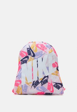 Nike Sportswear - KIDS GRAPHIC GYM SACK UNISEX - Gympapåse - sunset pulse/white