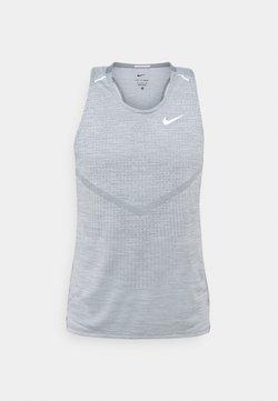 Nike Performance - ULTRA TANK - Top - smoke grey/light smoke grey