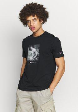 Champion Rochester - ROCHESTER THEME CREWNECK  - T-shirts print - black