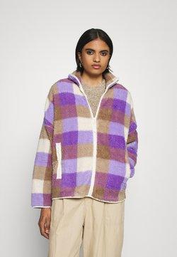 Monki - GAIA - Lett jakke - purple/beige