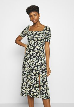 Gina Tricot - PUFF SLEEVE DRESS - Jerseykleid - multi coloured