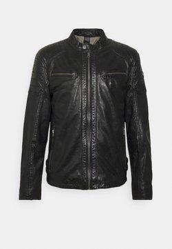 Gipsy - TULOK - Leather jacket - black