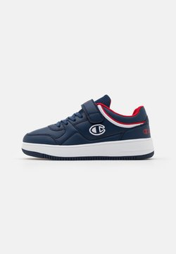 Champion - LOW CUT SHOE NEW REBOUND UNISEX - Basketball shoes - new navy