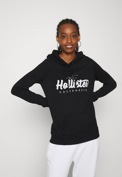 Hollister Co. - TECH CORE - Kapuzenpullover - black
