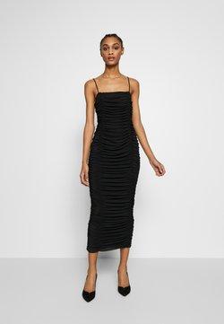Club L London - CAMI RUCHED DRESS - Ballkleid - black
