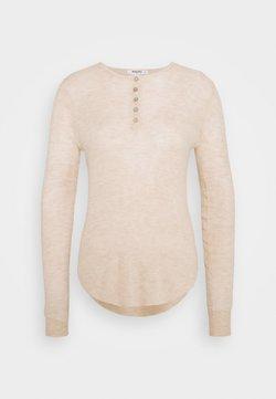 Missguided Petite - SHEER GRANDAD  - Pullover - stone