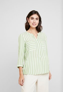 TOM TAILOR - Bluse - green/white