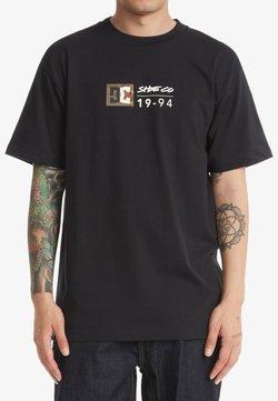 DC Shoes - SPLIT STAR - T-shirt print - black