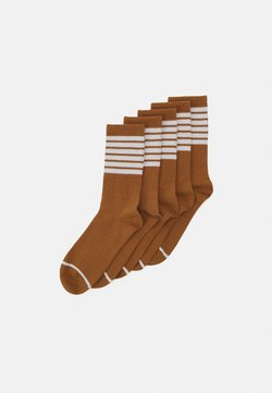 Monki - KIRSTEN SOCK 5 PACK - Socken - brown