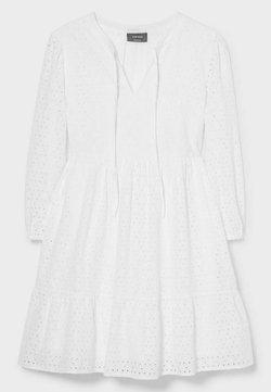 C&A - Korte jurk - white