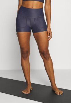 Free People - SOLID WHITE WATER SHORT - Tights - navy