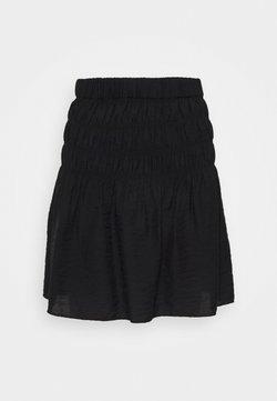 YAS Petite - YASSMOCKA SKIRT - Minifalda - black
