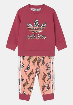 adidas Originals - CREW SET UNISEX - Chándal - wild pink/glow pink/multicolor/white