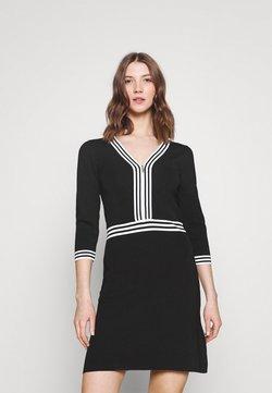 Morgan - Vestido de tubo - noir/off white