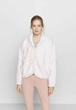 Free People - HIT THE SLOPES JACKET - Forro polar - ivory