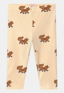 TINYCOTTONS - FOXES - Leggings - cream/brown