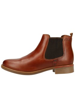s.Oliver - Ankle Boot - cognac