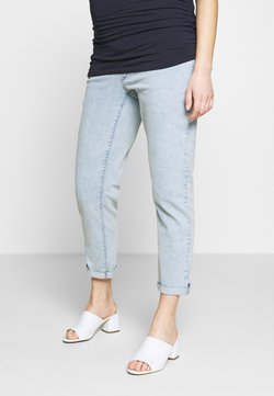Dorothy Perkins Maternity - MATERNITY UNDERBUMP  - Relaxed fit jeans - light wash denim
