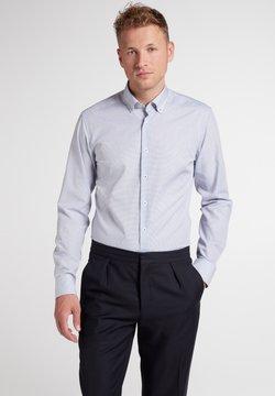 Eterna - Businesshemd - blau/braun