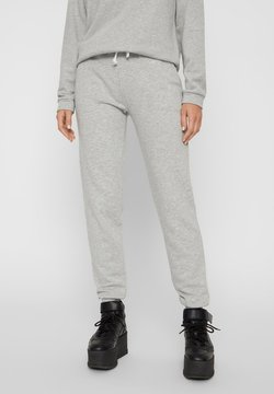 Pieces - PCEMILA PANTS - Jogginghose - light grey melange