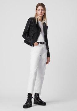 AllSaints - VELA BIKER - Leren jas - black