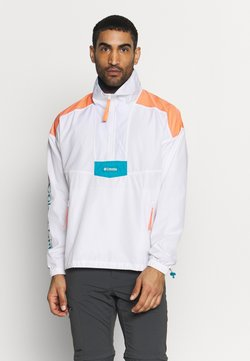 Columbia - SANTA ANA™ ANORAK - Veste coupe-vent - white/brigt nectar/clear water