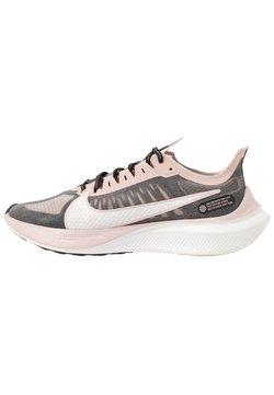 Nike Performance - ZOOM GRAVITY - Juoksukenkä/neutraalit - black/platinum tint/stone mauve/metallicred bronze/smokey mauve