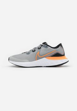 Nike Performance - RENEW RUN UNISEX - Juoksukenkä/neutraalit - light smoke grey/total orange/black/white