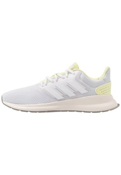 adidas Performance - RUNFALCON - Hardloopschoenen neutraal - dash grey/footwear white/yellow tint