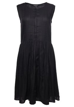 Superdry - TEXTURED - Day dress - black