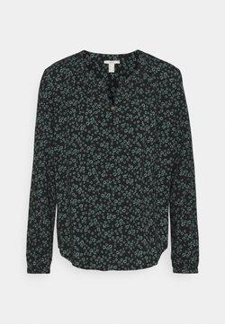 edc by Esprit - BLOUSE - Langarmshirt - black