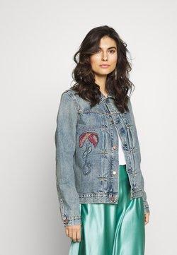 Nudie Jeans - VINNY - Denim jacket - blue denim