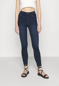 JDY - JDYTULGA LIFE HIGH SKINNY MIX  - Jeans Skinny Fit - dark blue denim