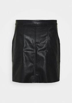 Vero Moda Tall - VMSYLVIA SHORT SKIRT TALL - Minirok - black