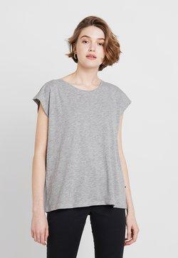 Noisy May - NMMATHILDE  - Camiseta básica - light grey melange