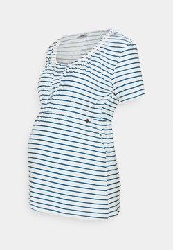 LOVE2WAIT - SHIRT NURSING BRETON - Camiseta estampada - navy