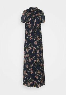 Vero Moda Tall - VMKAY ANKLE SHIRT DRESS - Blusenkleid - navy blazer