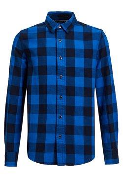 WE Fashion - FLANELLEN - Hemd - cobalt blue