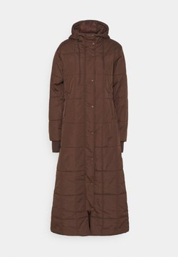 NU-IN - QUILTED PUFFER LONG COAT - Veste d'hiver - brown