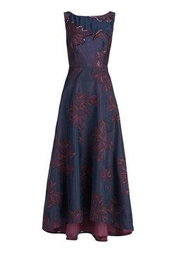 Vera Mont - MIT PAILLETTEN - Ballkleid - dark red-dark blue