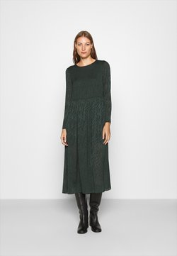 Samsøe Samsøe - LARIMAR LONG DRESS - Maxikjoler - darkest spruce