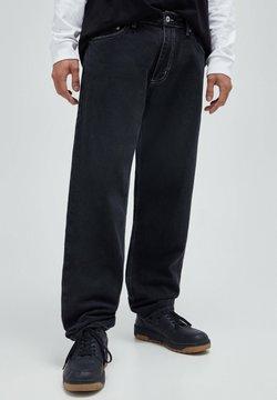 PULL&BEAR - Jeans Relaxed Fit - mottled dark grey