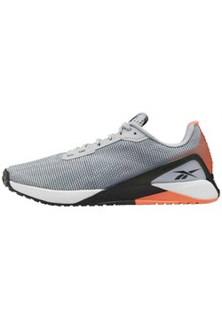 Reebok - NANO X1 GRIT SHOES - Zapatillas de running estables - grey