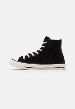 Converse - CHUCK TAYLOR ALL STAR - Korkeavartiset tennarit - black/egret