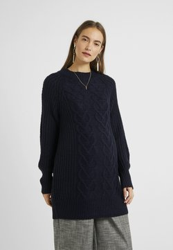 Dorothy Perkins Maternity - CABLE - Neule - navy