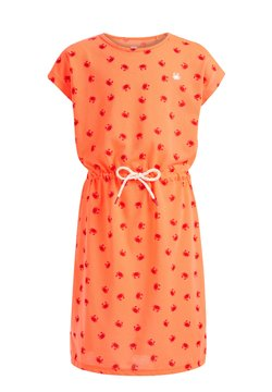 WE Fashion - MET KRABDESSIN - Freizeitkleid - bright orange