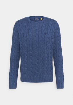 Polo Ralph Lauren - CABLE - Maglione - derby blue heather